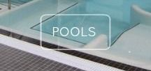 Take the Plunge / Our selection of swimming pool and spa tiles will help you to create an abyss of luxury and tranquility.