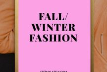 Fall/Winter fashion / Style and outfit tips for the winter and fall season  STEPHYLATELY.COM