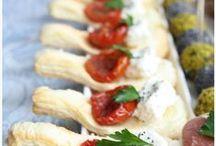 Finger food dolce e salato / Cibo finger food