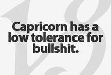 My Capricorn/Aquarian self