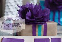 Gaveindpakning og papirnips