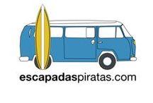 Vans & Surf escapadaspiratas / Nuestra contribución al mundo: que la gente viaje más.  www.escapadaspiratas.com