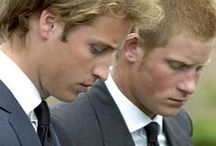 Princes William And Harry / Dianas Boys