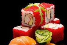 Creative Sushi / Langoustines can be used in cutting edge sushi