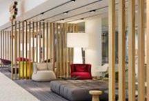 wnętrze biurowe - strefa relaksu i odpoczynku
