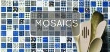 Mosaic Madness / Waxman Ceramics has been the UK's largest mosaic importer and exporter for the past 30 years' so we thought it about time we celebrate what we do best, with a few of our most contemporary ranges of 2015.