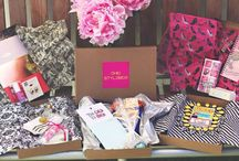 Chic StyleBox - Monthly Collections / A collection of our monthly boxes delivering fresh fashion and accessories.