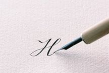 LETTERING AND CALLIGRAPHIC