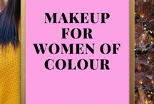 Makeup for WOC / How to Makeup inspiration for women of colour. Blackgirlmagic STEPHYLATELY.COM