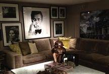 CELEBRITY PRINTS / Creëer een metropolitan sfeer in je interieur met iconische filmsterren van toen. In grote lijsten aan de wand gegroepeerd of één groot exemplaar. Op zoek naar inspiratie? Kijk dan hier voor stijlvolle tips!
