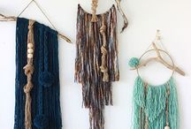 Weaving and Wall Hangings / Crafty art