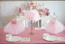 ballerina party / addobbi per una festa in perfetto stile ballerina