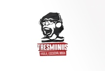 Tresmonos branding - Logo / Tresmonos is a start-up marketing online company who needed a corporate image, something fresh, impacting and urban. We take the Marketing to the streets.  website http://www.perezramerstorfer.com/ facebook https://www.facebook.com/perezramerstorfer / by perezramerstorfer design & creative studio