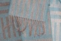 Woolly Goodness / British Wool Scarves / British wool scarves from Laura's Loom