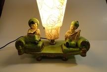 Vintage TV Lamps & Decorations