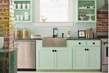 Beautiful Kitchens / Modern to Vintage Kitchens / by Stainmaster