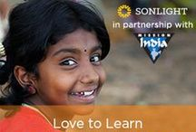Charitable Giving Opportunities / Here are some charitable giving opportunities that Sonlight is involved with.