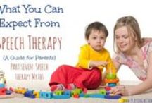 Caregiver / Speech Therapy information for caregivers and parents