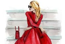 Fashion Illustrations / Fashion illustrations and drawings