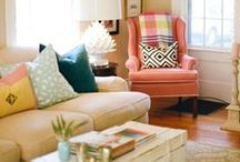 Comfy Living Rooms / Make it your refuge, with cozy decorating ideas and the softest carpet styles.