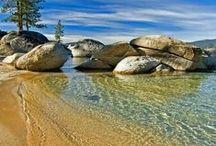 Lake Tahoe Beaches / #SierraSIR, #SierraSothebys, #LakeTahoeLuxury, #LakeTahoeBeaches