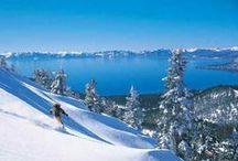 Lake Tahoe Winter / #SierraSIR, #SierraSothebys, #LakeTahoeLuxury, #LakeTahoeSnow