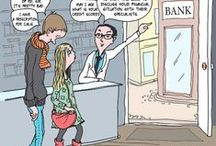 Pharmacy Comics / Fun cartoons/comics about medicines and diseases, you will LOVE it!  http://www.canadianpharmacyking.com/KingsBlog/index.php/category/Cartoons-and-Comics/