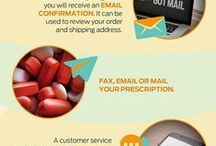 Pharmacy Infographic / A collection of pharmaceutical and health related infographics! Enjoy and Share!