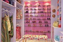 Closet like Cinderella.