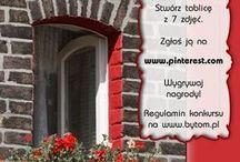 """Bytom in red / Zapraszamy do udziału w konkursie """"Bytom in red""""! Stwórz tablicę z 7 zdjęciami, zgłoś ją w komentarzu i wygrywaj nagrody! Regulamin dostępny na www.bytom.pl."""
