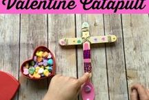 Valentine's Day Ideas for Homeschool / Craft and history ideas for celebrating Valentine's Day in your homeschool.