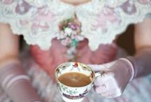 Time for Tea / Guides to Victorian tea party etiquette, traditional recipes, modern-twists on Victorian tea and so much more!