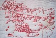 Embroidery - Redwork / by Susan Torrington