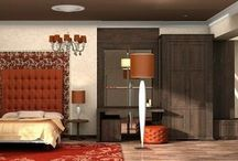 """Гостиничный номер """"Люкс"""" / Интерьер гостиничного номера люкс выполнен в стиле арт-деко."""