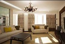 3к.кв-2ур. в ЖК Меридиан / Дизайн интерьера 2-х уровневой квартиры в ЖК Меридиан создавался для семьи из 3-х человек. Преобладание пастельных тонов в интерьере обусловлено пожеланиями заказчика.