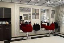 Редизайн салона красоты / Редизайн салона красоты. Задача такая же - С минимальными затратами функционирующему салону красоты придать правильный стиль и настроение.