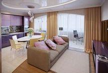 Трехкомнатная квартира в ЖК на ул. Гвардейской / Основным требованием хозяев трехкомнатной квартиры в ЖК на ул. Гвардейской (р-он 5ой Дачной) (90 кв. м) была бюджетность и практичность — нужно было разместить 5 человек.  Стиль — современный.   Сайт: http://саратов-дизайн.рф Группа: http://vk.com/designsaratov Телефон: 89271332827