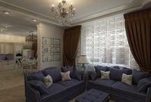 Трехкомнатная квартира в классике в ЖК Ямайка / Дизайн трехкомнатной квартиры в ЖК Ямайка, общей площадью 118 кв. м., получился классическим, но в то же время ярким и выразительным, а также очень функциональным — задействован буквально каждый метр пространства, но комнаты не перегружены деталями.  Классический стиль наилучшим образом отражает консервативные взгляды хозяев квартиры — пары средних лет.  Сайт: http://саратов-дизайн.рф Группа: http://vk.com/designsaratov Телефон: 89271332827