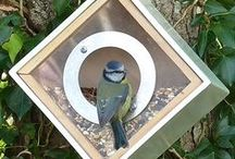 Djur i trädgården / Fågelmatare, fågelbon och djur i trädgården
