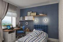 """3к.кв. в ЖК """"Атлант"""" (83,2 кв.м) / Квартира для семьи с двумя детьми, оформлена в современном стиле и спроектирована нами как четырехкомнатная.   Интерьер квартиры получился современным, функциональным и комфортным.   Сайт: http://саратов-дизайн.рф Группа: http://vk.com/designsaratov Телефон: 89271332827"""