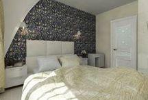 """4к.кв. в ЖК """"Эгоист"""" (96 кв.м.) / Эта квартира хороший пример сочетания классики и современного стиля. Кухня, прихожая и спальня выдержаны в светлых спокойных тонах и приближены к классике, наличие деревянной мебели делает комнаты более уютными, зал же наоборот получился более эксцентричным, с фактурными стенами, он буквально наполнен светом!  Сайт: http://саратов-дизайн.рф Группа: https://vk.com/designsaratov Телефон: 89271332827"""