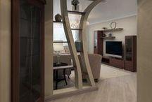 3 к.кв. на Гоголя, 2 (95 кв. м) / Проект #трешка_на_Гоголя. Квартира выдержана в спокойных тонах. Классический стиль характеризуется наличием роскошного декора, лепнины. Все три комнаты изолированы, каждая комната индивидуальна, но выдержана в общей стилистике. Такой интерьер подойдет для людей с размеренным образом жизни.   Сайт: http://саратов-дизайн.рф Группа: http://vk.com/designsaratov Телефон: 89271332827