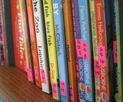 Book Storage and Organization for Homeschool / How to store, organize, and make the most of a home library for homeschool. Labeling, rotating, and even creating reading nooks to encourage kids to read for fun.