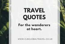 Travel Quotes / Inspirational quotes about exploration and travelling.