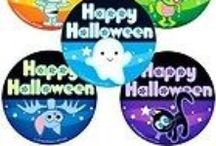 Halloween Scrapbooking Stickers / A nice collection of Halloween Scrapbooking Stickers!