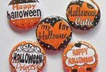 Halloween Flatback Pins / A nice collection of Halloween Flatback Pins