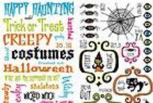 Halloween Rub Ons / A Nice Collection Of Halloween Rub Ons For Halloween Scrapbooking!