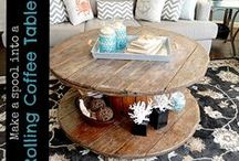 Fabulous Furniture Ideas / DIY Furniture ideas Pinterest board by CreativeMeInspiredYou.com
