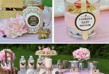 Thank Heaven for Little Squirrels Baby Shower / Rustic & adorable baby Shower theme your guests will go NUTS over!  :) / by One Swell Studio - Cara McGrady