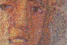 Textile art / Paula O'Brien and others, Art textiles, surface design, embellishment, art quilts.